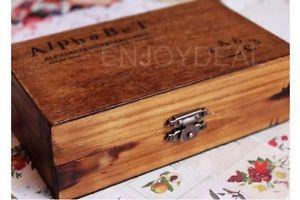 Гаджет  70x/Set Alphabet Letter Number symbol Wood Rubber Stamp Set Wooden Box #D2 #*M/ None Строительство и Недвижимость