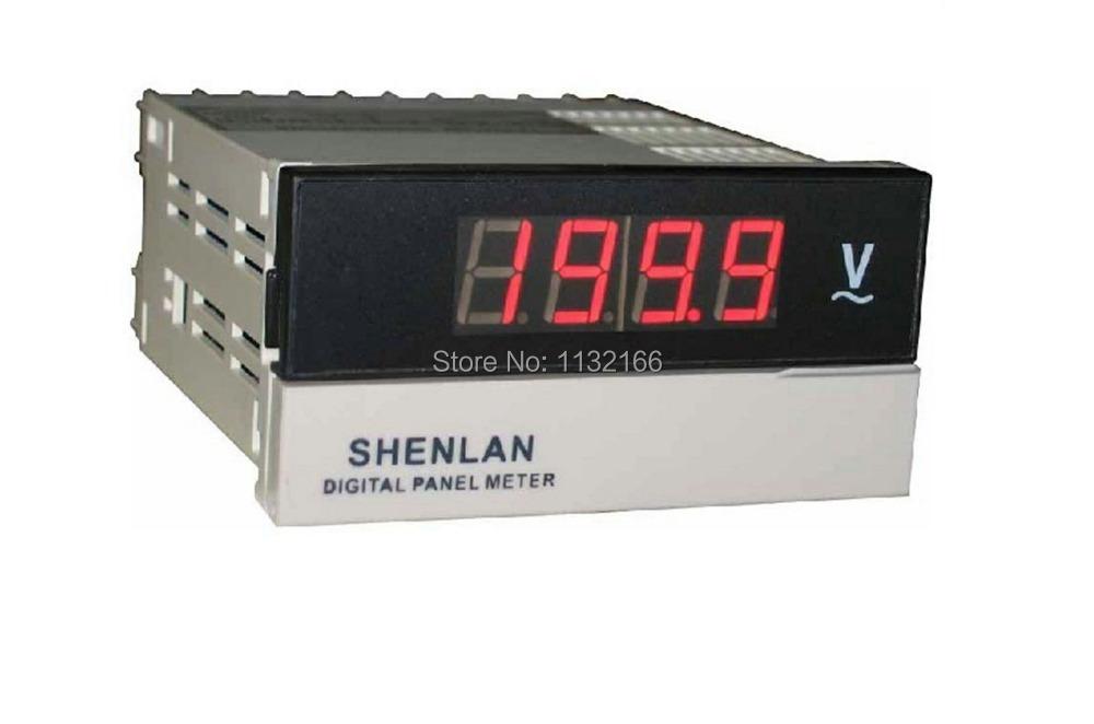 1 piece AC 0-200V Red LCD 3 1/2 Voltage Panel Meter Digital Voltmeter<br><br>Aliexpress