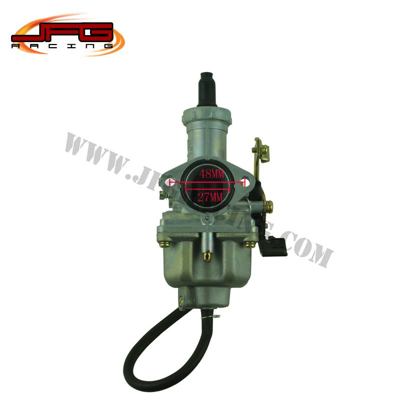 free shipping KF Hand Or Cable Choke pz27mm carb Carburetor fit 150cc 200cc motorcycle Dirt bike Pit Bike ATV(China (Mainland))