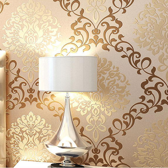 Compare Prices on Gold Fiber Wallpaper Online ShoppingBuy Low