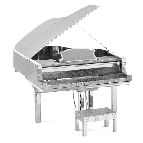 The Piano 3D Puzzle Musical Instruments Model Educational Toys,DIY Metal Model Toys Metallic Jigsaw,Free Shipping(China (Mainland))
