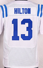 2016 NEW Men's 34 Robinson 12 Andrew Luck shirts T.Y. Hilton Andre Johnson Pat McAfee white blue stitched elite jersey(China (Mainland))
