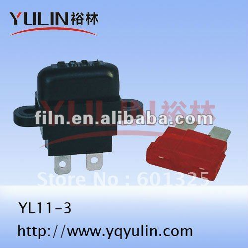 500pcs/lot Miniature inserted slice fuse for car