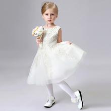 Custom Made Ball Gowns Tulle Flower Girl Dresses For Weddings Party First Communion/ Pageant Dresses For Little Firls
