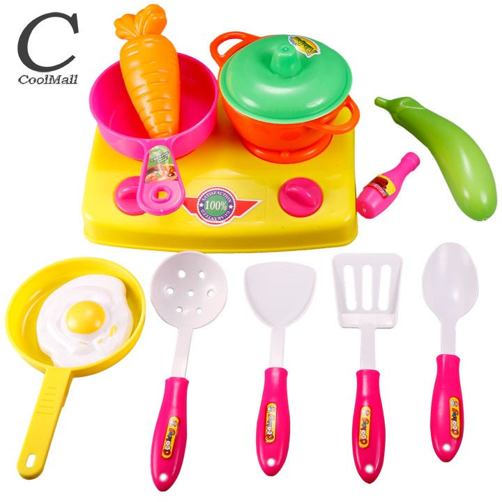Smart Kids Classic Toys Early Education Role Playing Cooking Tools Baby Educational Kitchen Toys Set Pretend Cooking 25(China (Mainland))