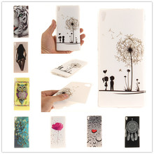 Buy Fashion Sexy Girl Owl Tiger Lion Soft TPU Back Cover Sony Xperia XA Ultra F3212 F3216 / Sony C6 Silicone Protective Case for $1.39 in AliExpress store