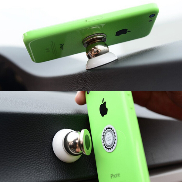 2016 New Arrival Car Kit Magnetic Holder Car Universal mount Windscreen Mobile Phone Stand Holder For iphone5 5S GPS SONY Xiaomi