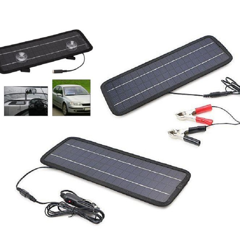 12 v solaire chargeur de batterie de voiture promotion. Black Bedroom Furniture Sets. Home Design Ideas