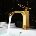 Wholesale And Retail Promotion New Hight Quality 100 Brass 4 Color Single Handle Basin Faucet Mixer