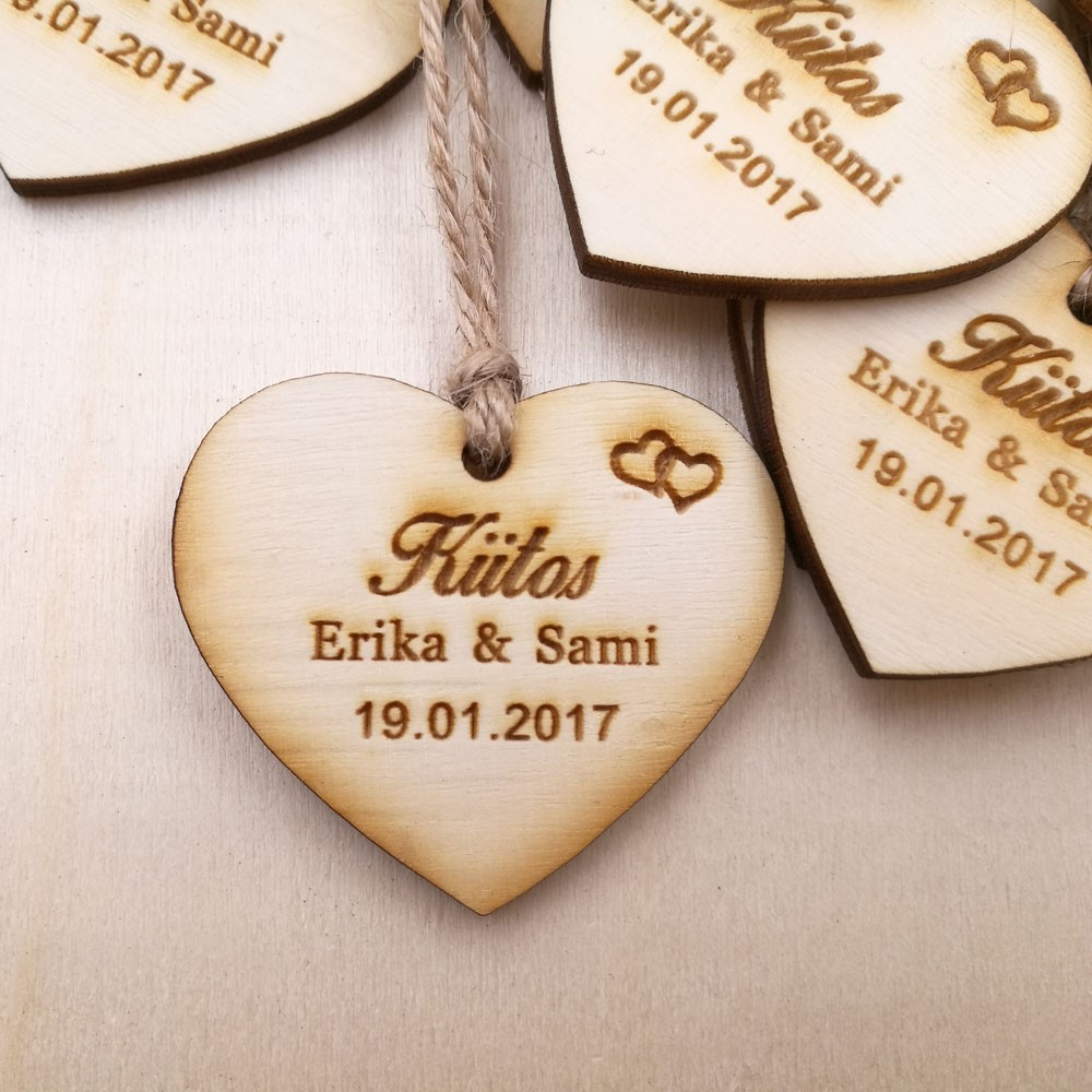 Personalized wedding favor tags, rustic Bridal Shower Favor Tags thank you wedding tags custom save the date Wooden Tags 3