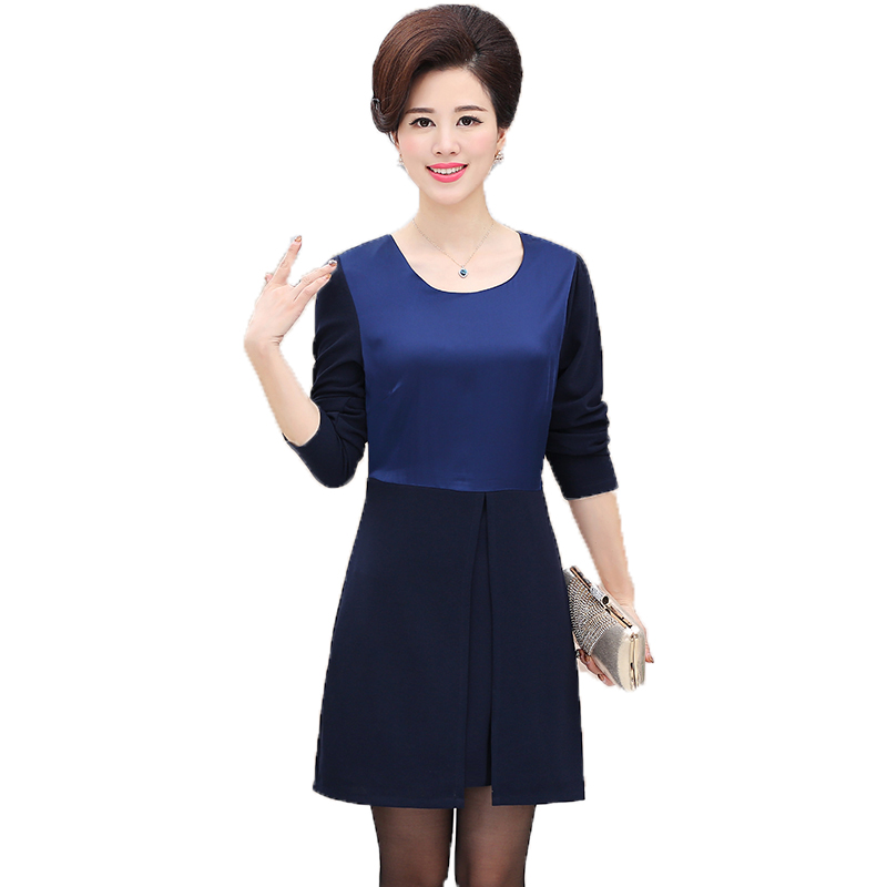 Popular Navy Blue Business Casual Women Dress-Buy Cheap Navy Blue Business Casual Women Dress ...