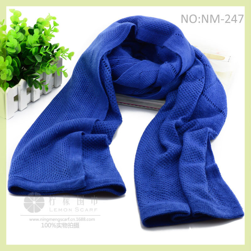 Pure color argyle wool scarf shawl wholesale South Korea's new scarf Autumn and winter scarf wholesale lady shawl(China (Mainland))