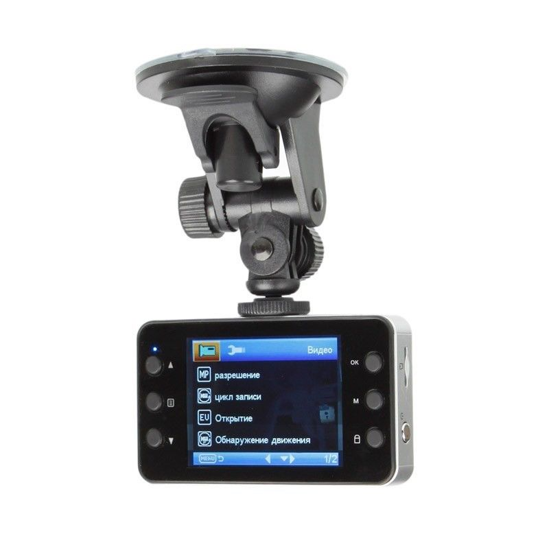 "Car Dvr K6000 1080P Full HD 2.7"" LCD G-Sensor Night Vision Car Video Recorder(China (Mainland))"
