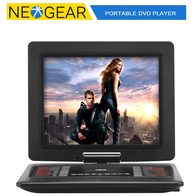 Original 12.1 Inch Portable DVD Player, 1366x768, 270 Degree Rotating Screen, Copy Function, Game Emulation, 1200mAh(China (Mainland))