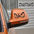 Dependable Fashion Eyes Design 3D Decoration Sticker For Car Side Mirror Rearview Ma18