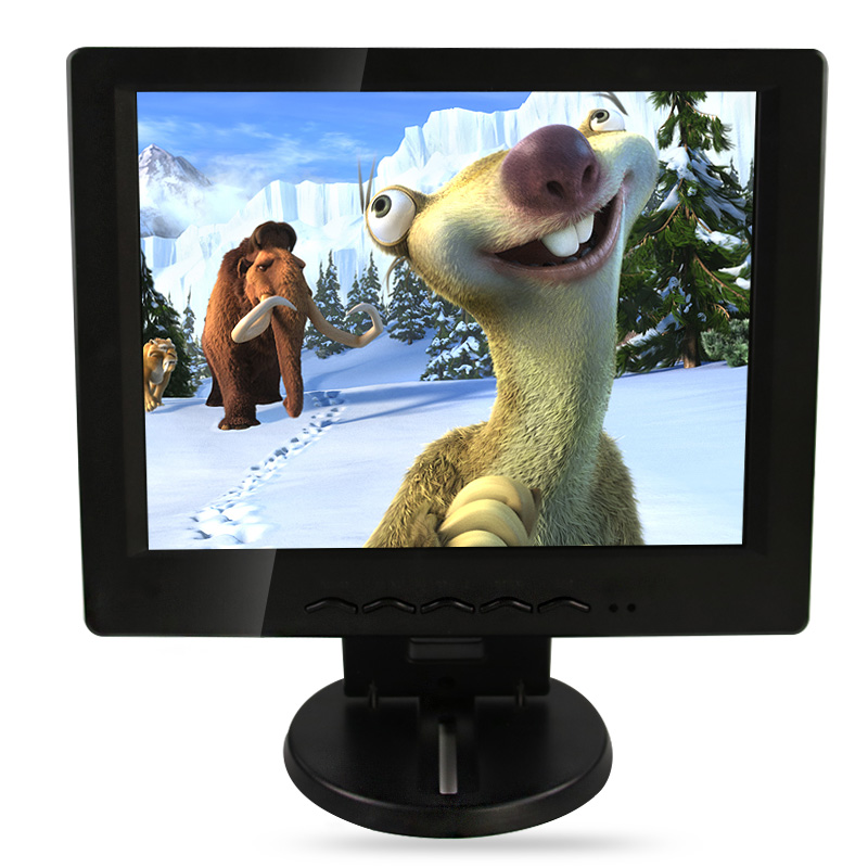 Фотография tv hdmi   plastic frame LCD industrial control monitor,monitor,song machine,cash register with 10 and 10.4 inch