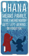 Painting Stich Family Quotes Huawei Honor 6 7 6X Ascend P6 P7 Mini P8 P9 Lite Mate 8 Skin Hard Cover Mobile Phone Cases - Custom and Retail Store store