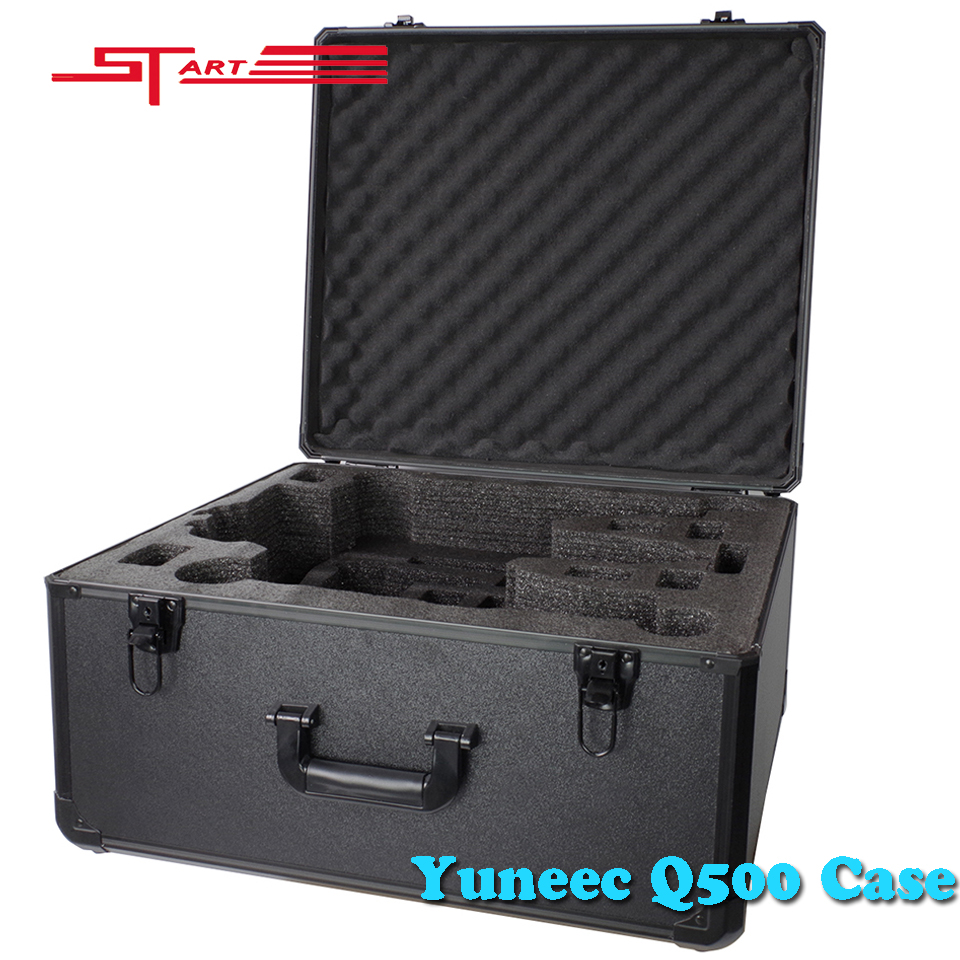 Фотография 2016 YUNEEC Q500 4K Protect Case Box for FPV Drone Aerial Drones UAV Yuneec q500 Shoulder Protection Outdoor Travel Fast Ship