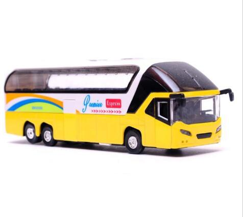 Factory Directly Wholesale Metal Car Model Toys Car Luxury Tour Bus Toy For Children Pull Back Sound With Flashing Can Open Door(China (Mainland))