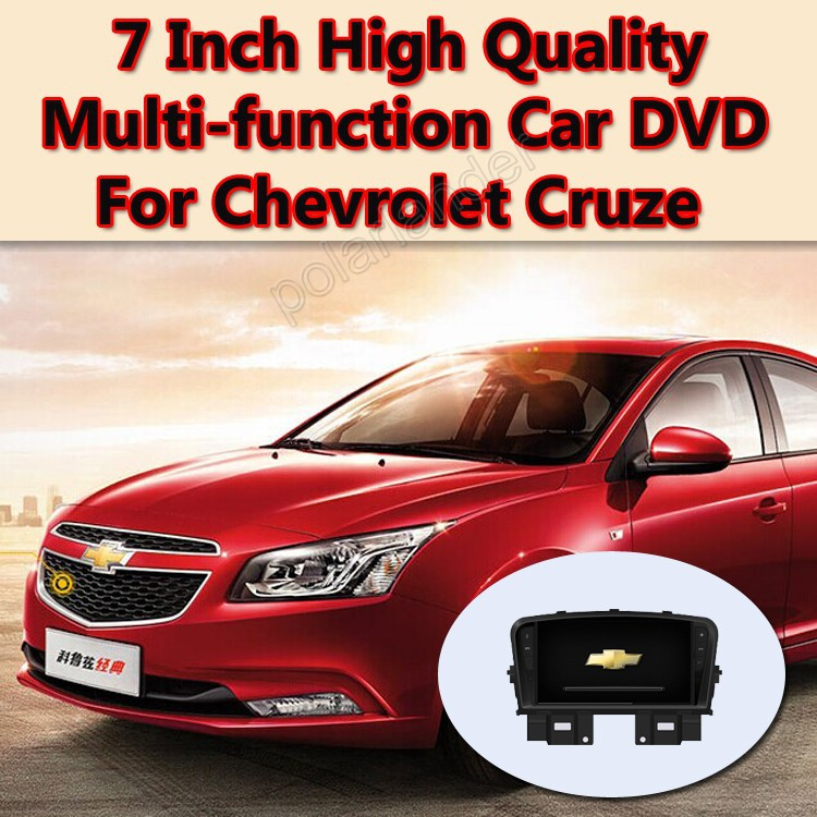 7 inch In Dash 2 Din Car DVD Player for Chevrolet Cruze with GPS Navigation Radio Bluetooth BT TV Stereo Video Tape Recorder(China (Mainland))