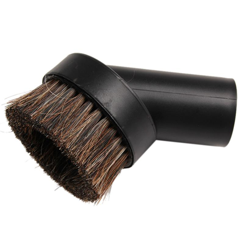 Horse Hair Dusting Brush Dust Clean Tool Attachment Vacuum Cleaner Round(China (Mainland))