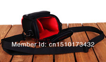 Free Shipping 2014 Hot New Black Camera Bag Case For Canon SX220 SX240 HS SX500 SX160 SX150 SX130 SX120 IS G10 Camera/Video Bags