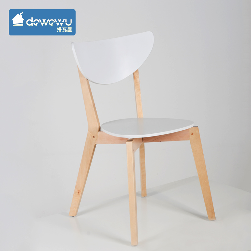 IKEA Solid Wood Legs Chair Ride Tile Meeting Chair