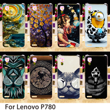 Buy Soft Mobile Phone Cases Lenovo P780 5.0 inch P 780 Cases Minions Dirt-resistant Hard Back Covers Skin Housing Sheath Bags for $1.42 in AliExpress store
