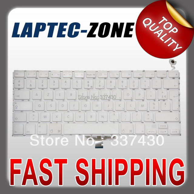 Original Clavier QWERTY FRENCH Keyboard coque FITS Macbook 13.3'' A1181 A1185, 100% WORKING !