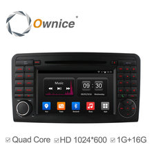 1024*600 2 din 4 Core Android4.4 Car DVD Player GPS For Mercedes ML W164 GL X164 ML350 ML320 ML280 GL350 GL450 2005-2012 16G ROM(China (Mainland))