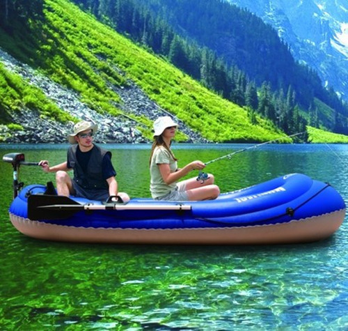AquaMarina / music draw new fishing boat dinghy thick double kayak 2 person inflatable boat canoe(China (Mainland))