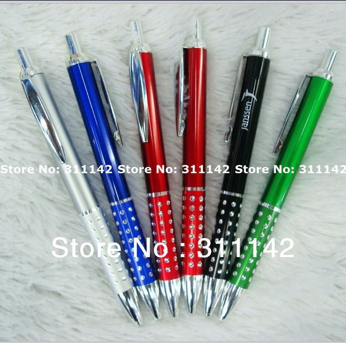 good quality plastic pen FREE SHIPPING by Fedex FREE LOGO PRINTING wholesale logo pen<br><br>Aliexpress