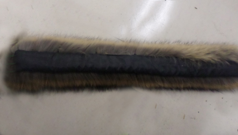 100% real raccoon fur  shooting autumn and winter Real raccoon fur scarf fur collar 70CM