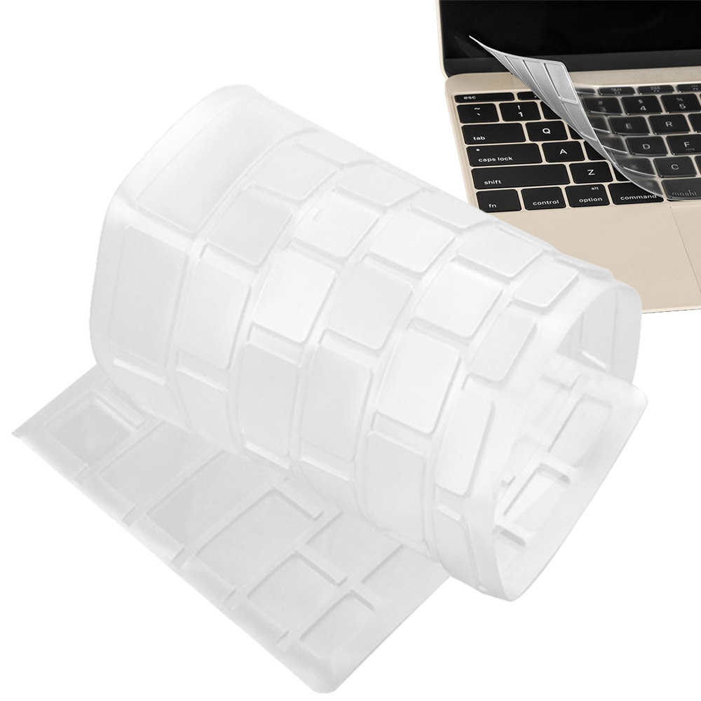 Flexible Washable Keyboard Protective Cover Clear TPU Cover Skin Protector for Apple MacBook 12 Inch with Retina Display(China (Mainland))