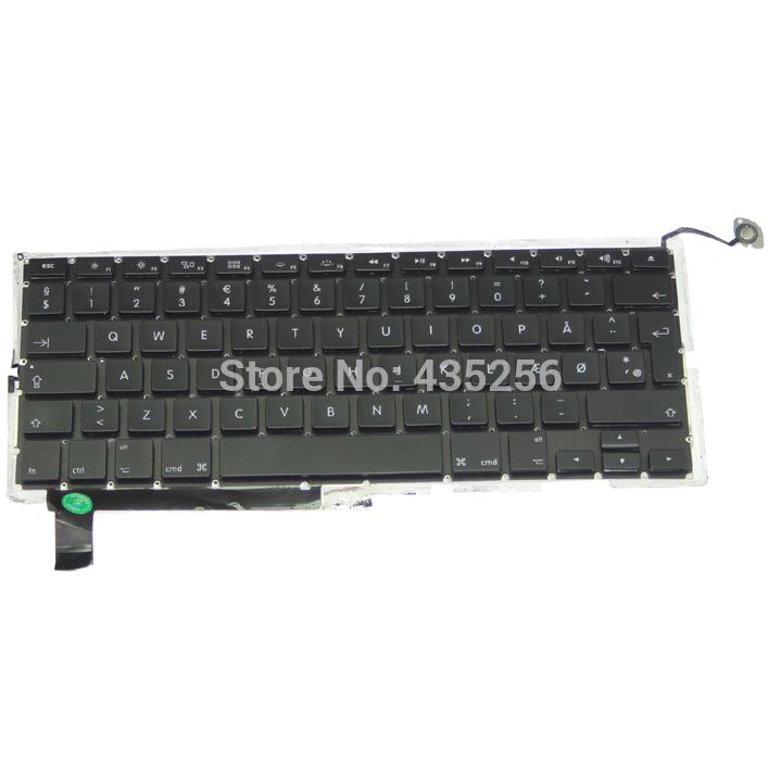 "15.4"" Laptop Replace Danish Keyboard For MacBook Pro A1286 Denmark Keyboard DM Keyboard Layout(China (Mainland))"
