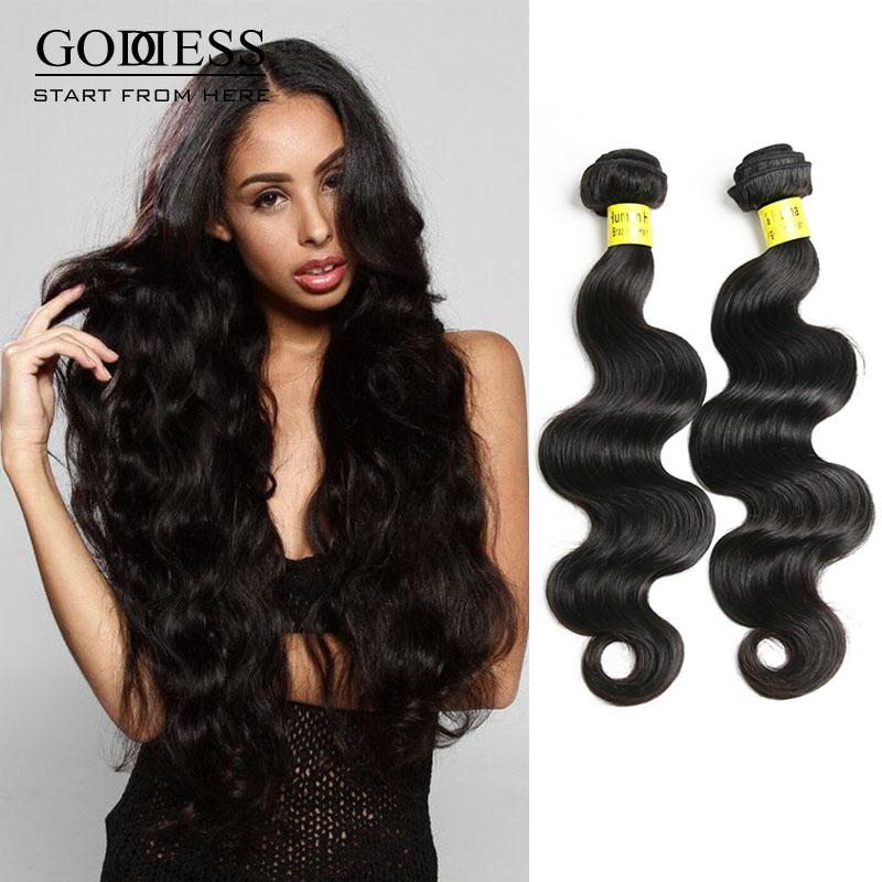 Spring Sale!!!Unprocessed Brazilian Human Hair Extensions Body Wave 2 Pcs Lot 100% Brazilian Virgin Human Hair For Black Women<br><br>Aliexpress