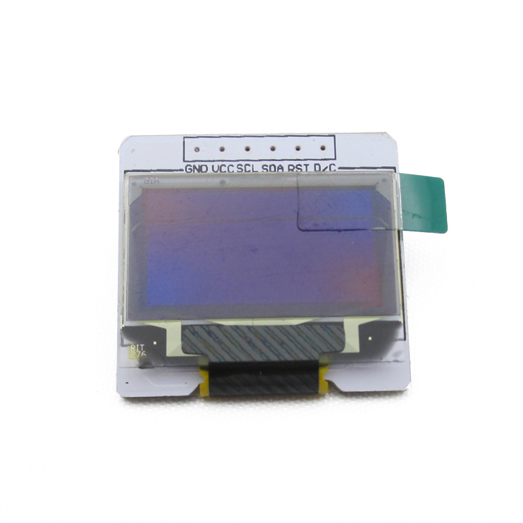 SENXIN 0.96 inch OLED screen / display module 128 * 64 yellow-blue color smart car track procedures provided(China (Mainland))