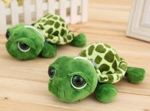1pc Army Green Big Eyes Turtle Stuffed & Plush Toys Sea Animals Plush Turtle Doll Pendant Best Gifts for Friends 20cm(China (Mainland))