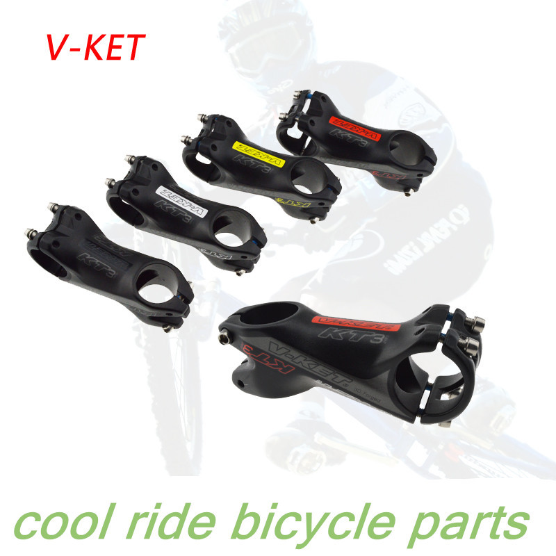 V-ket stem mountain bike stem 31.8x75mm bicycle riser rod 31.8 used cover(China (Mainland))