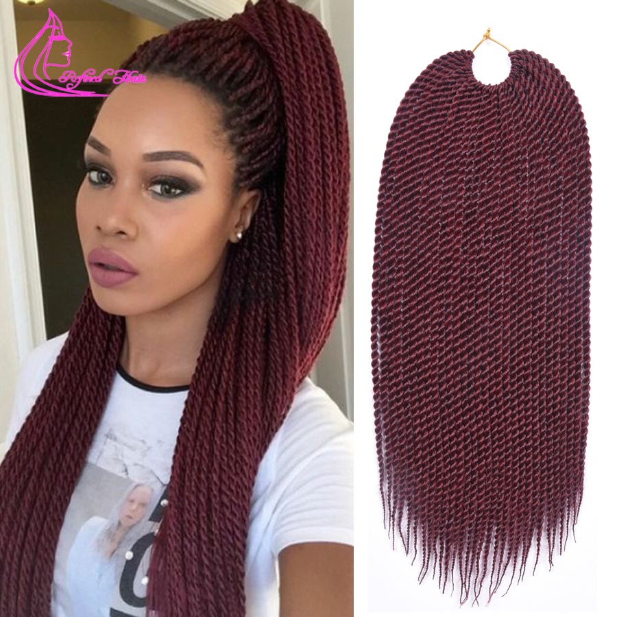 Crochet Hair Ombre : ... Ombre Hair Crochet Braids Synthiec Hair Extensions-in Bulk Hair from