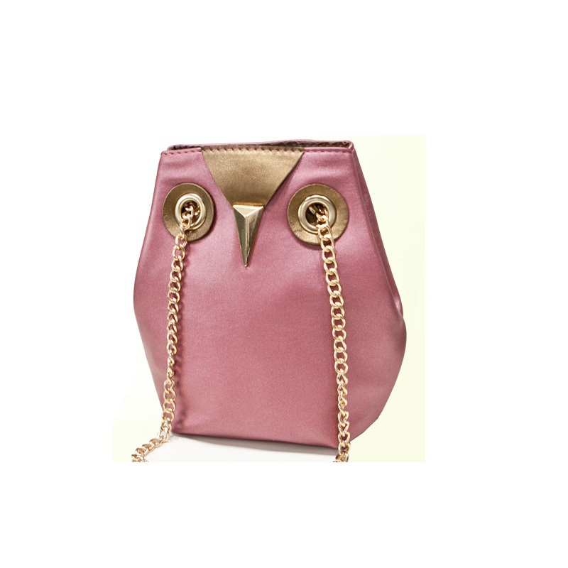 Vintage Fashion owl chain women messenger bags desigual 2015 new PU leather female shoulder bag Women's Crossbody Bags barrel(China (Mainland))