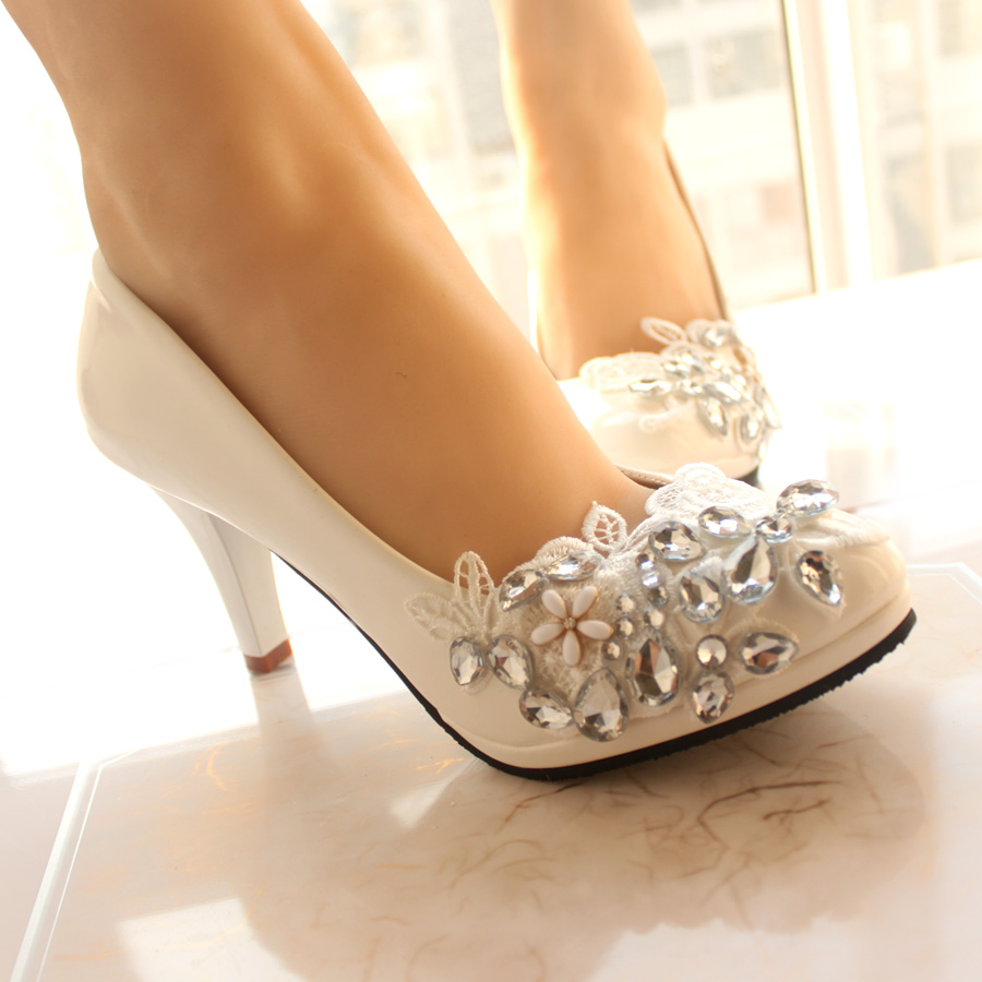 new style bridesmaid shoes heels white wedding shoes