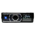Private Mode 1DIN Blue Light LCD Display 4X60W 6303 IC 12V Car Radio FM USB SD