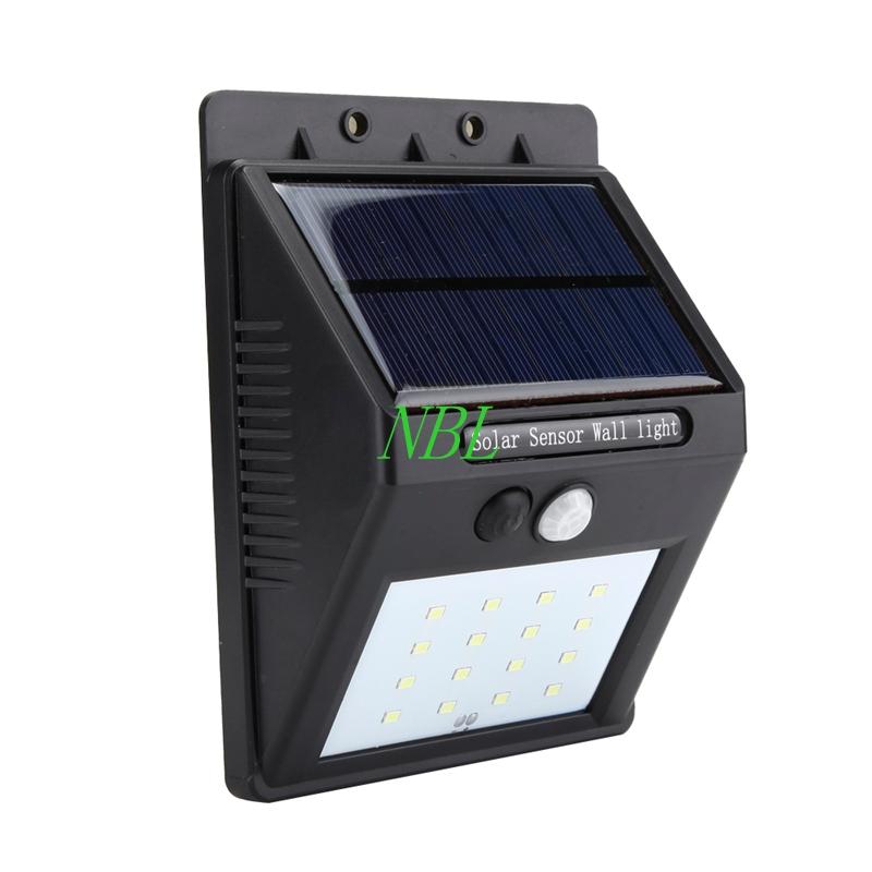 Propel 16 LED Wireless Waterproof Outside Solar Motion Sensor Light PIR CDS Night Sensor Wall Light With Retail Box FreeShipping<br><br>Aliexpress