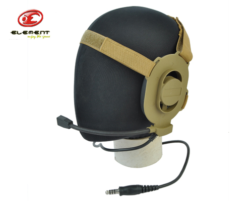 Element Z027 Z-Tactical Style Gen 2 Headset without PTT Adapter Airsoft Tactical Headset Outdoor Hunting Communication Tool