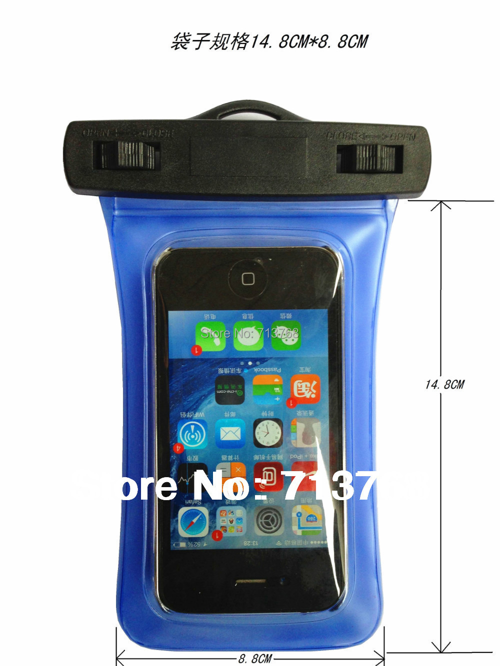 Waterproof Case Underwater Pouch housing For Samsung S3 S4 For iphone 4 4S 5 5S 5C xiami Nokia ect(China (Mainland))