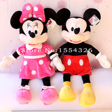 40cm hot sale High quality new Lovely Mickey Mouse Plush Toy Minnie Doll Christmas birthday gift(China (Mainland))