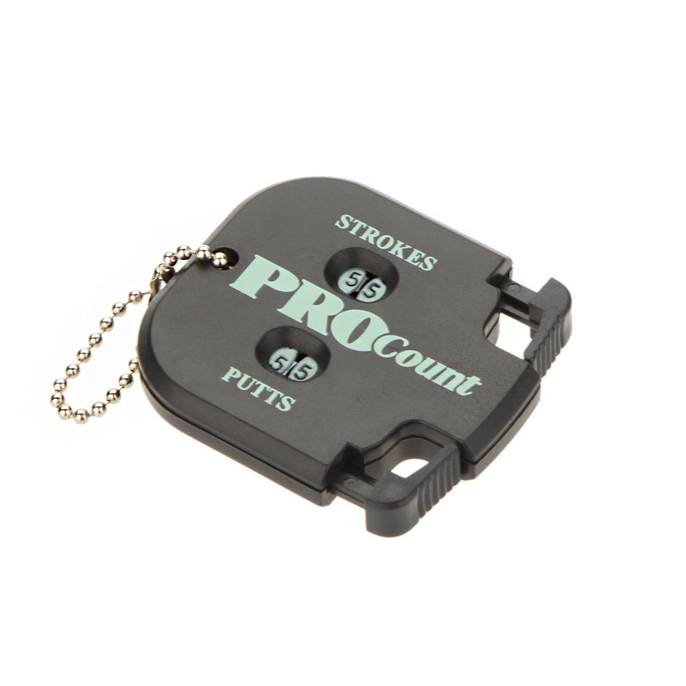New Black Golf Stroke Shot Putt Two Digits Display Score Counter With Key Chain(China (Mainland))