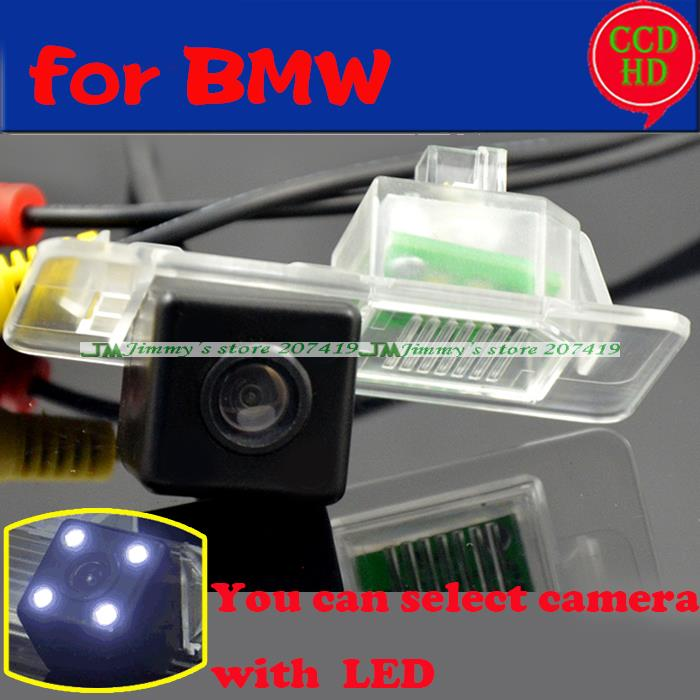 For BMW 3/5 series BMW X3 X4 X5 X6 2014 2015 car auto rear view back parking camera for sony ccd with LEDS color night vision(China (Mainland))