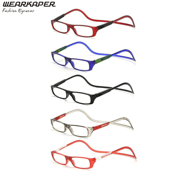 5 Pack Adjustable Fashion Magnetic eyeglasses Reading Glasses Men Women Sun Readers +1.0/1.5/2.0/2.5/3.0/3.5/4.0